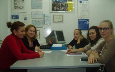 JOBNET researchers volunteers at the 1st working meeting