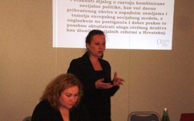 Regional workshop on European social model in Sisak