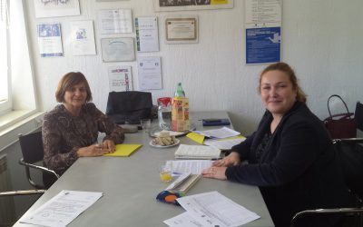 Sisak Volunteer' Network project team meeting