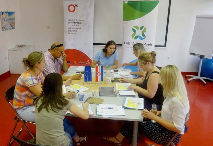 "New EU project ""Q25 – Strengthening Volunteering' System in Rural Communities of the Central Croatia"" kick-off"
