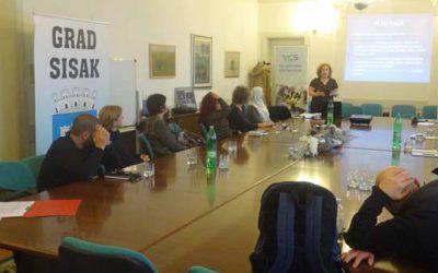 First meeting of Sisak volunteer coordinators' non-formal network