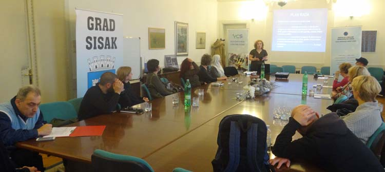First meeting of Sisak volunteer coordinators' non-formal network