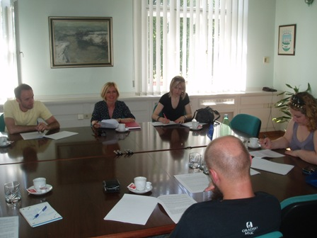 Held 3rd meeting of Sisak Local volunteering policy development Working group