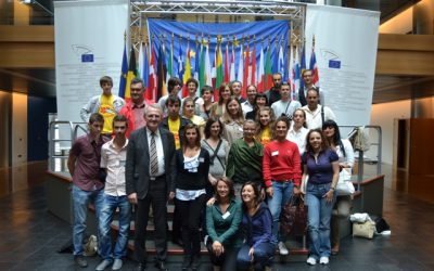 Volunteers from Sisak at Summer school in Strasbourg