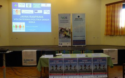 Public discussion on Sisak Voluntary Policy