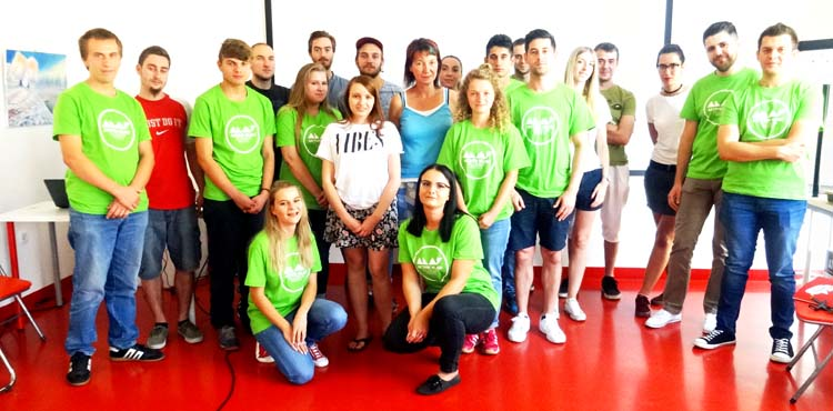 Participants of active citizenship education visited association Carpe Diem in Karlovac