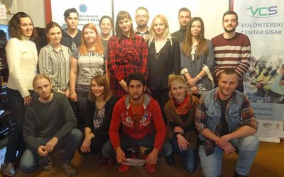 Youth workshop on (social) entrepreneurship held in Sisak
