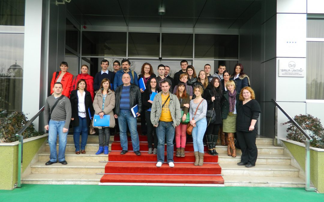 Training on volunteers' management and local volunteers' centers functioning successfully implemented