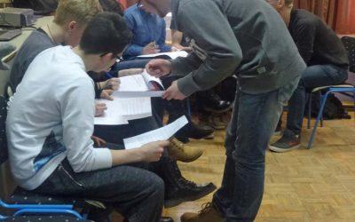 Youth workshop on entrepreneurship for Sisak Technical School students