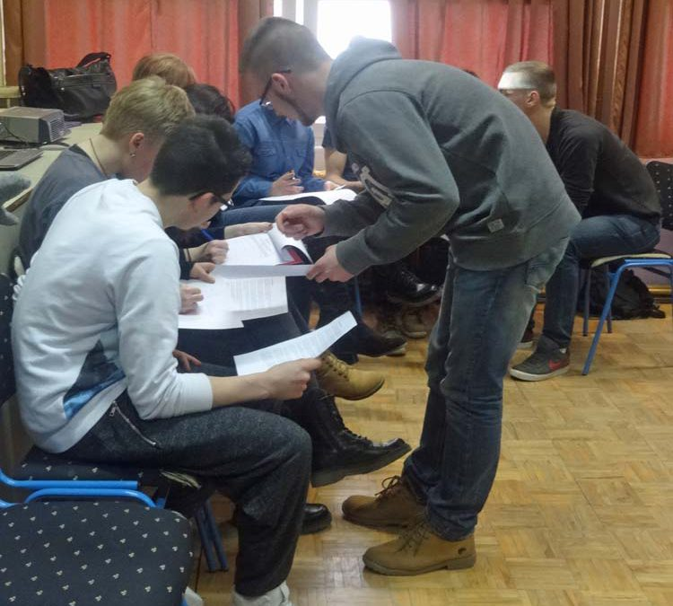 Youth workshop on entrepreneurship for Sisak Technical School students