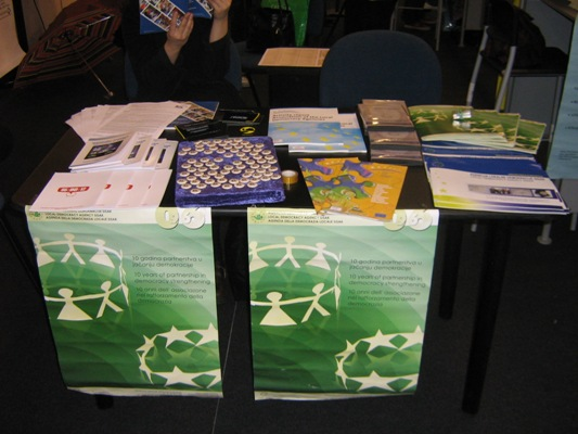 Participation in a fair CIVITAS, Padua