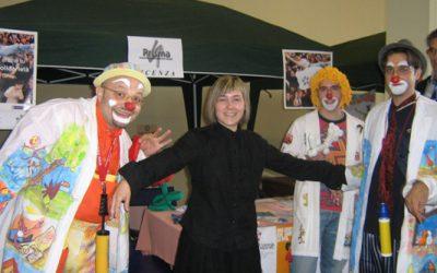 Held workshop for new clowns-volunteers