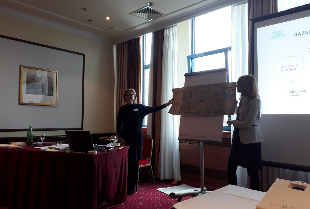 """The first module of the Training Academy """"Training for Trainers – TOT"""" held in Zagreb"""