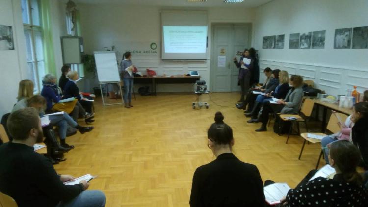 Volunteer management training for new generation of the local volunteers' coordinators in Central Croatia