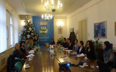 Progress in Sisak local voluntary policy development