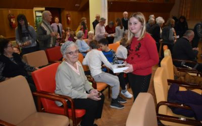 Primary school volunteers and Elderly home users celebrated World Disease Day