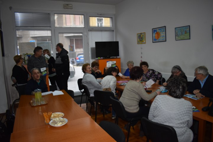 Users of the Sisak Physical Disability Association have been educated about volunteering