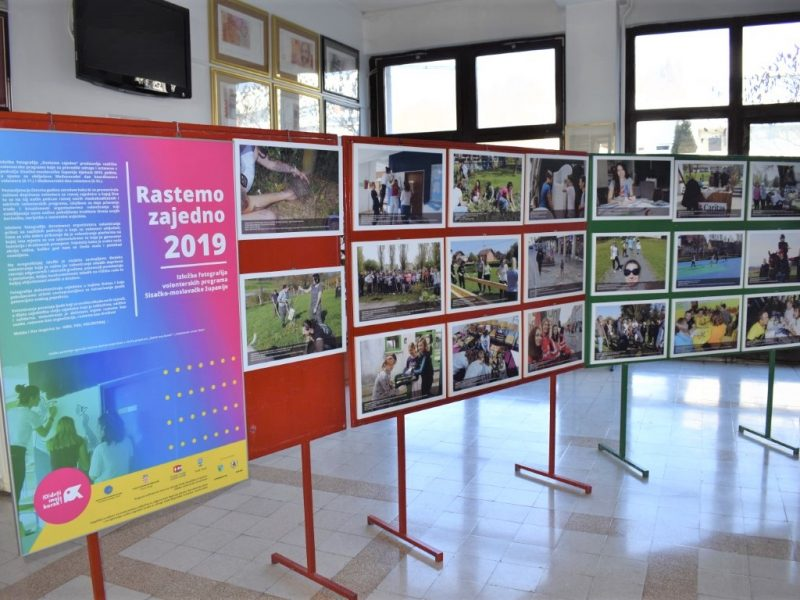 "Exhibition ""Growing Together"" was opened in Hrvatska Kostajnica, Croatia"