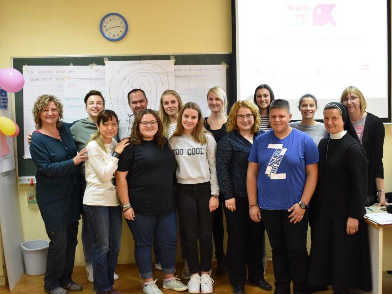 Education on school volunteering was held