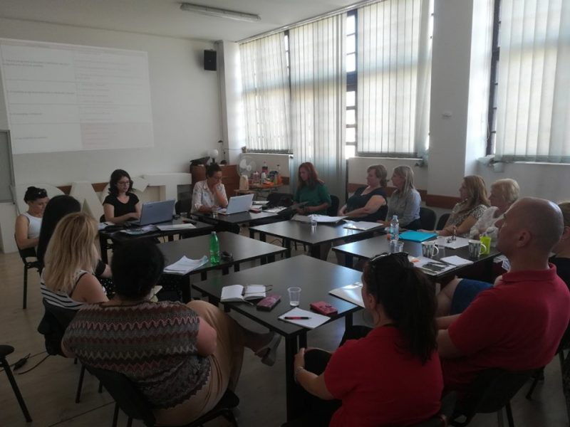 """The first partnership meeting within the project """"Future: for us and for you!"""" was held in Čakovec"""