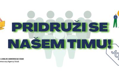ALD Sisak zapošljava programskog/ programsku asistenta/ asistenticu – rok prijave do 6.9.2020.