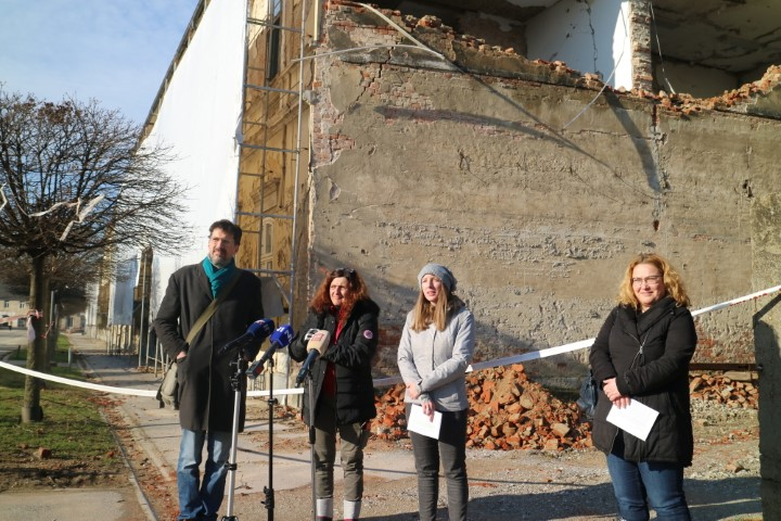 Post-quake recovery in Croatia must be sustainable in the long run, green and people centered