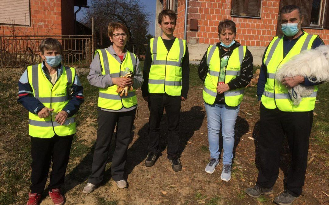 Mjesec dana volonterske podrške na potresom stradalom području