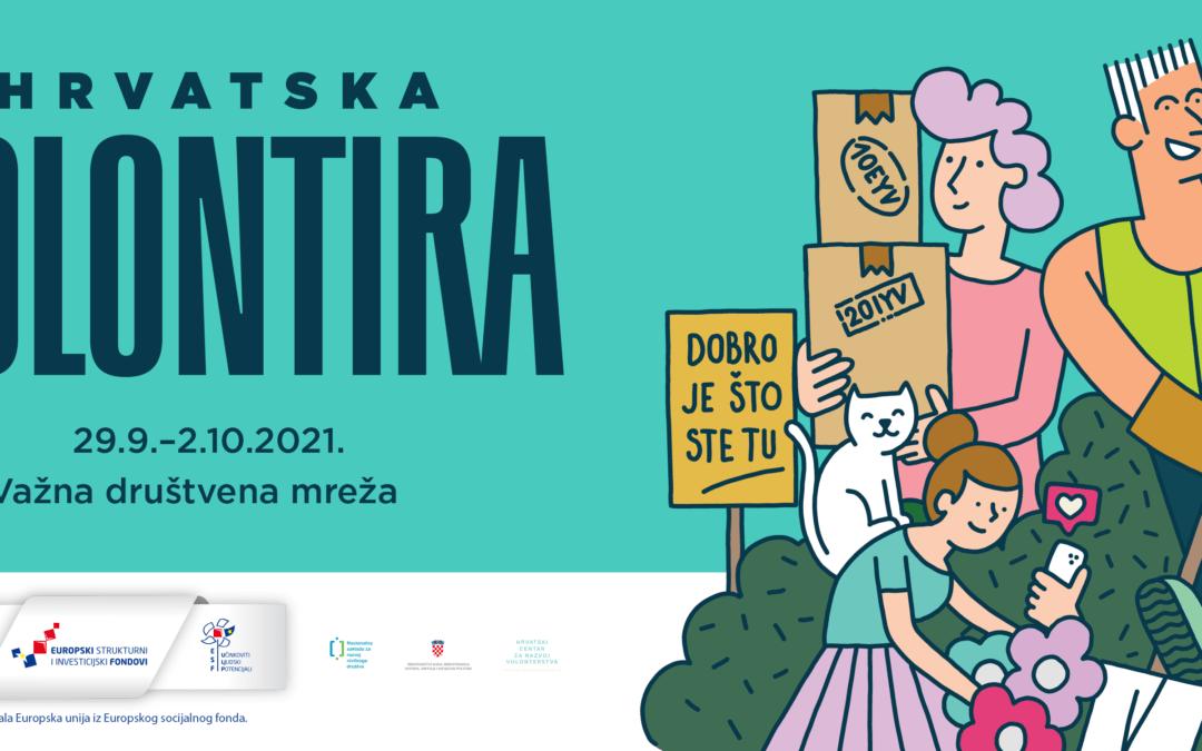 Hrvatska volontira 2021. – Hvala što ste tu!